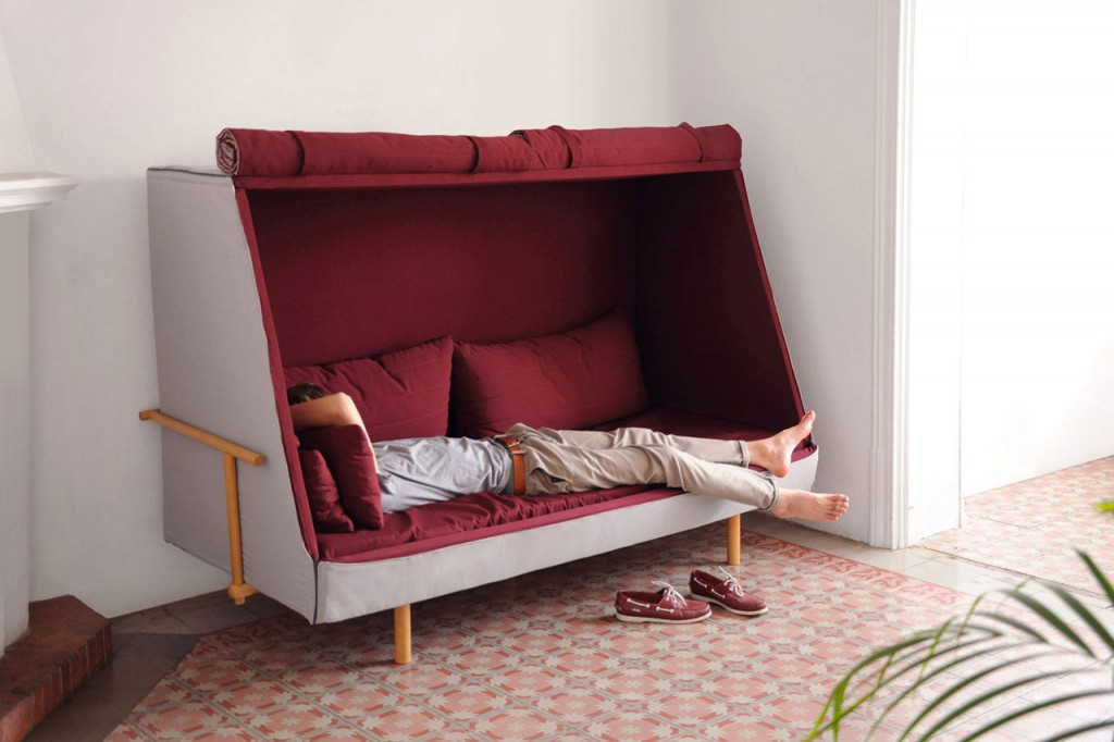 I covet this couch. It's a stretch for a post on padding, but whatever. It looks padded, right? Right.