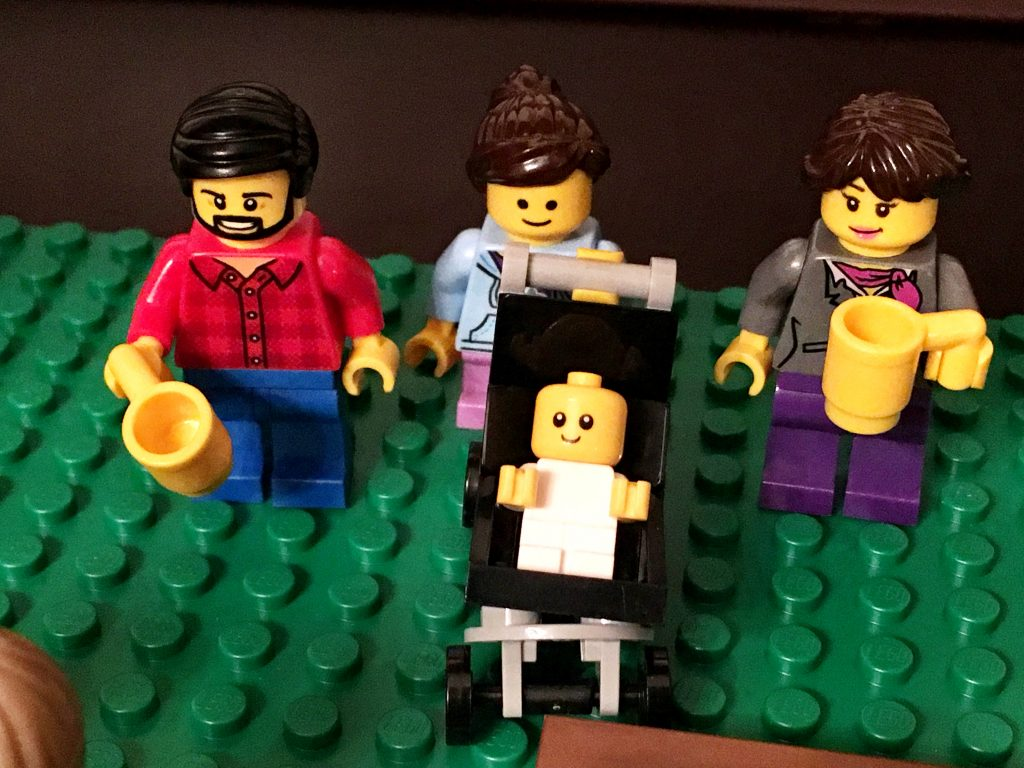 Even more realistic LEGO Smiths (notice the coffee cups.)